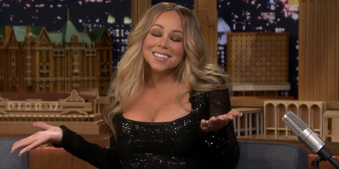 Mariah Carey #JusticeforGlitter problematic hashtag