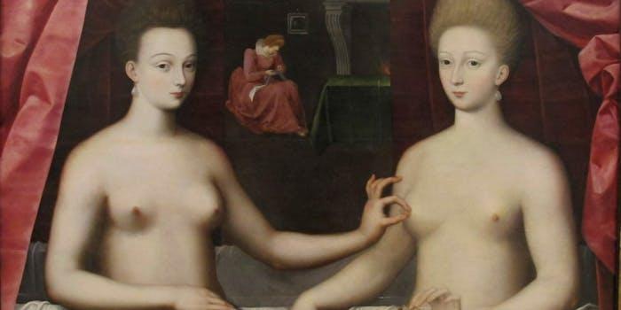 nipple painting