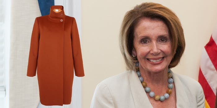 pelosi coat