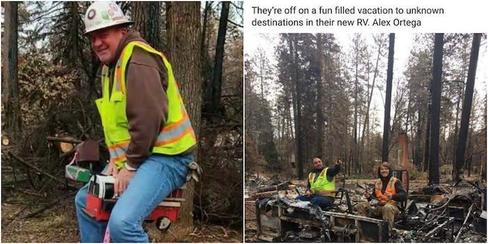 wildfire cleanup facebook