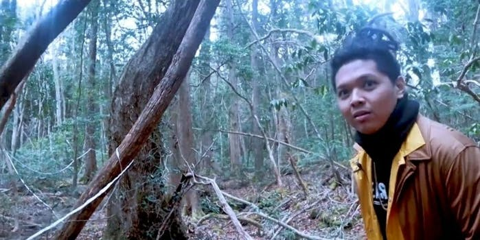 Qorygore YouTube suicide forest Logan Paul