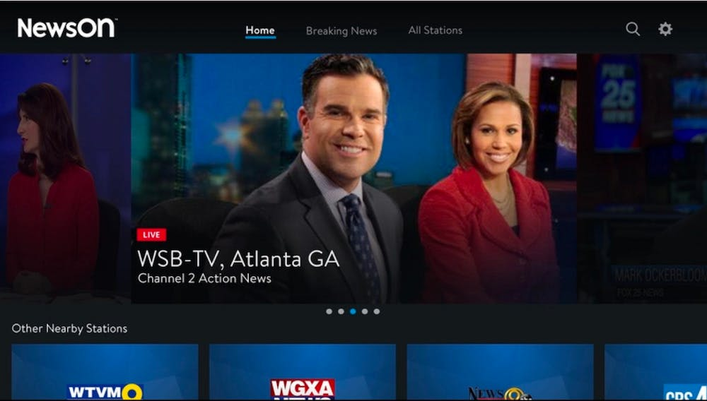 roku local channels - news ON