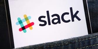 slack in back pocket