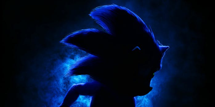 sonic the hedgehog live action movie poster