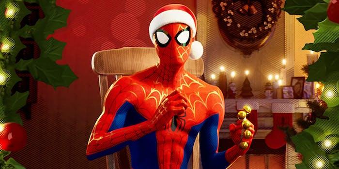 spidey christmas
