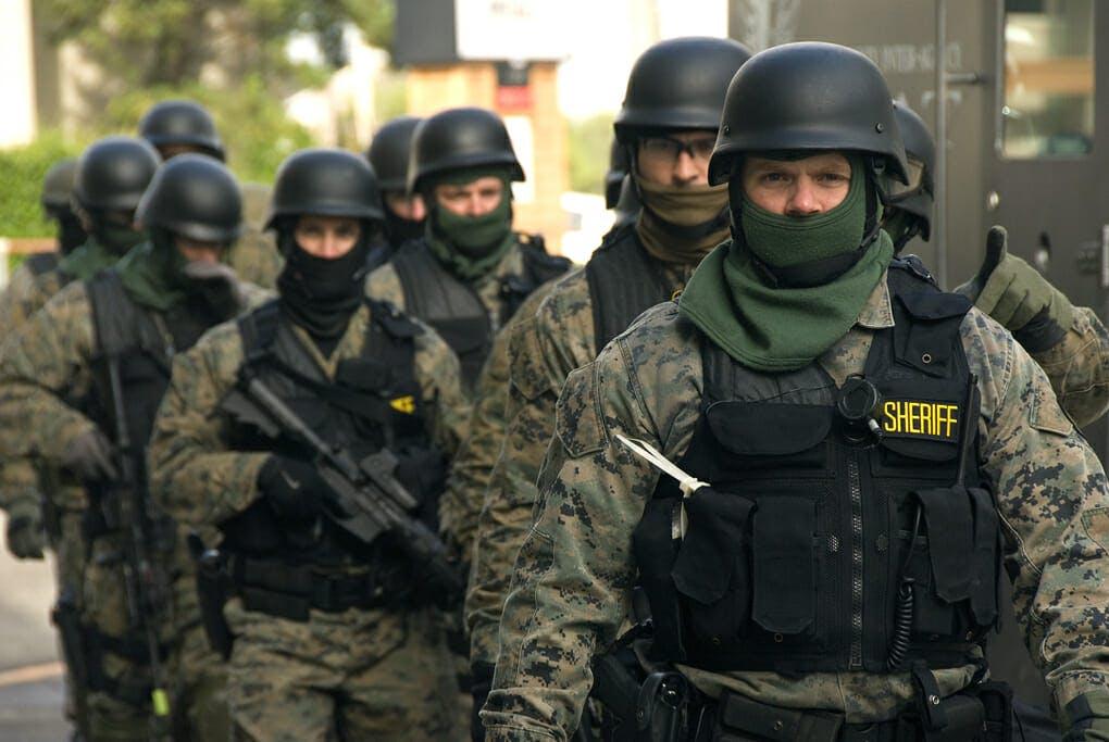 swat police uniform