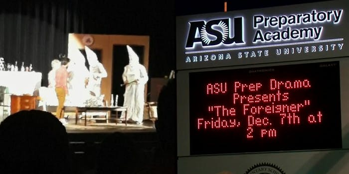 the foreigner play kkk costumes