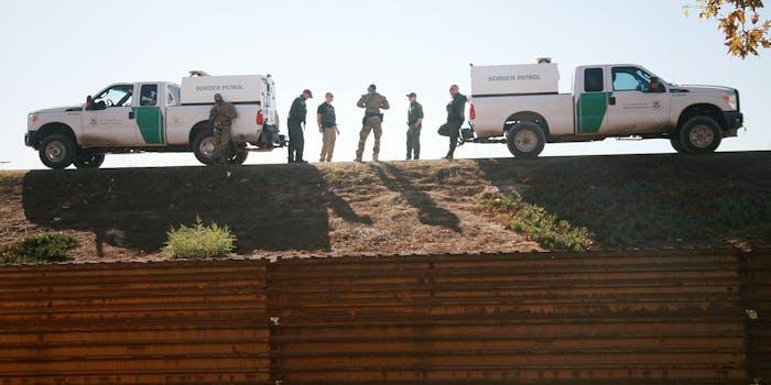 us border patrol trucks