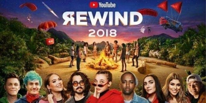 YouTube Rewind 2018 disliked
