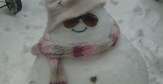 fat snowman