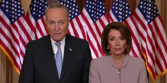 Chuck Schumer Nancy Pelosi Rebuttal Trump Memes