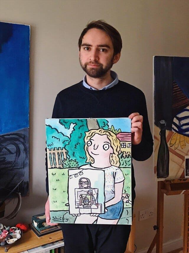 Reddit painting