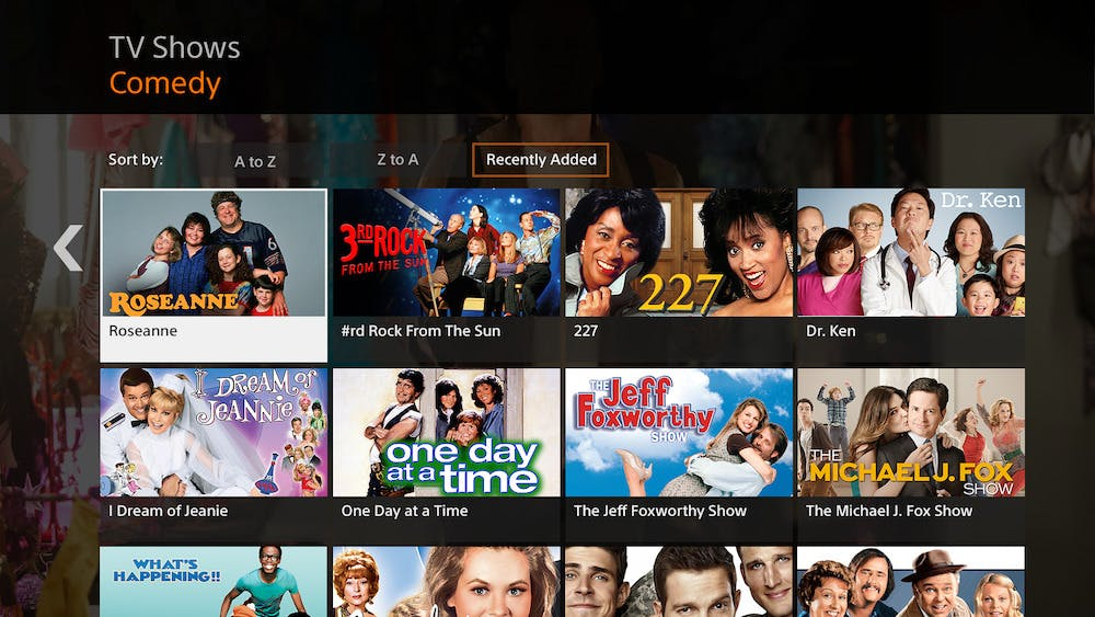 best amazon fire channels - crackle example