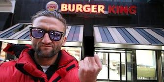 Casey Neistat Burger King Twitter funnel cake fries