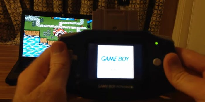 game boy controller hack