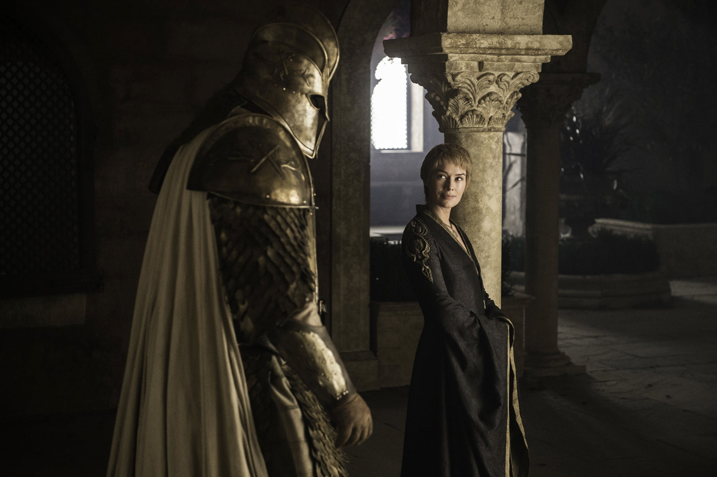 game of thrones cleganebowl cersei mountain
