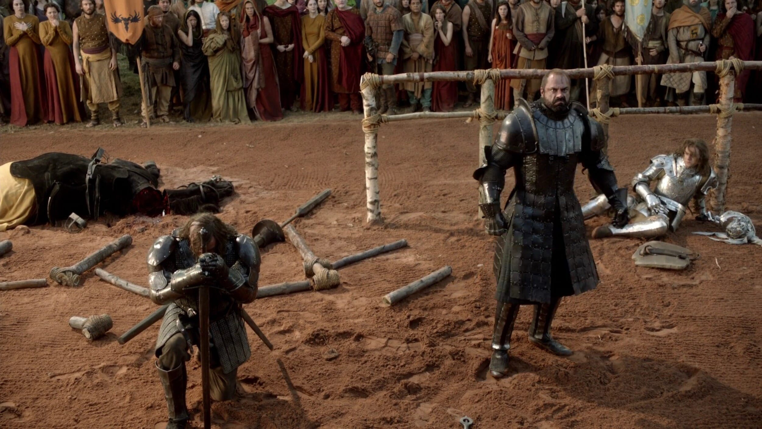 game of thrones cleganebowl hound mountain fight