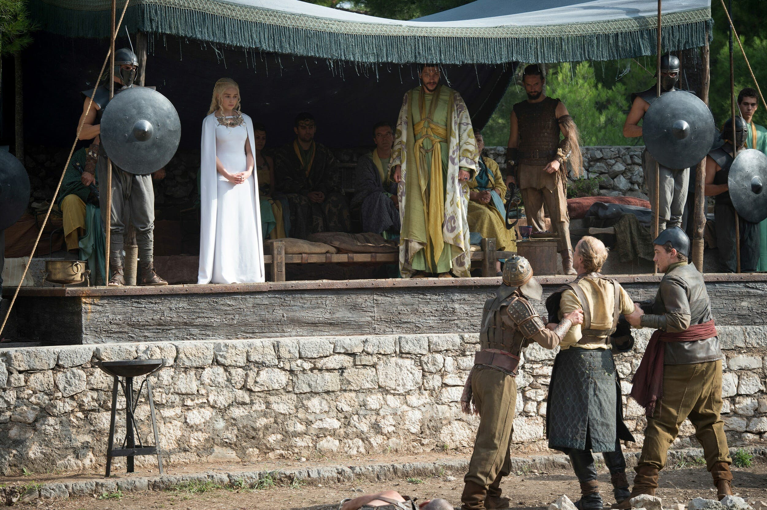 game of thrones fighting pits
