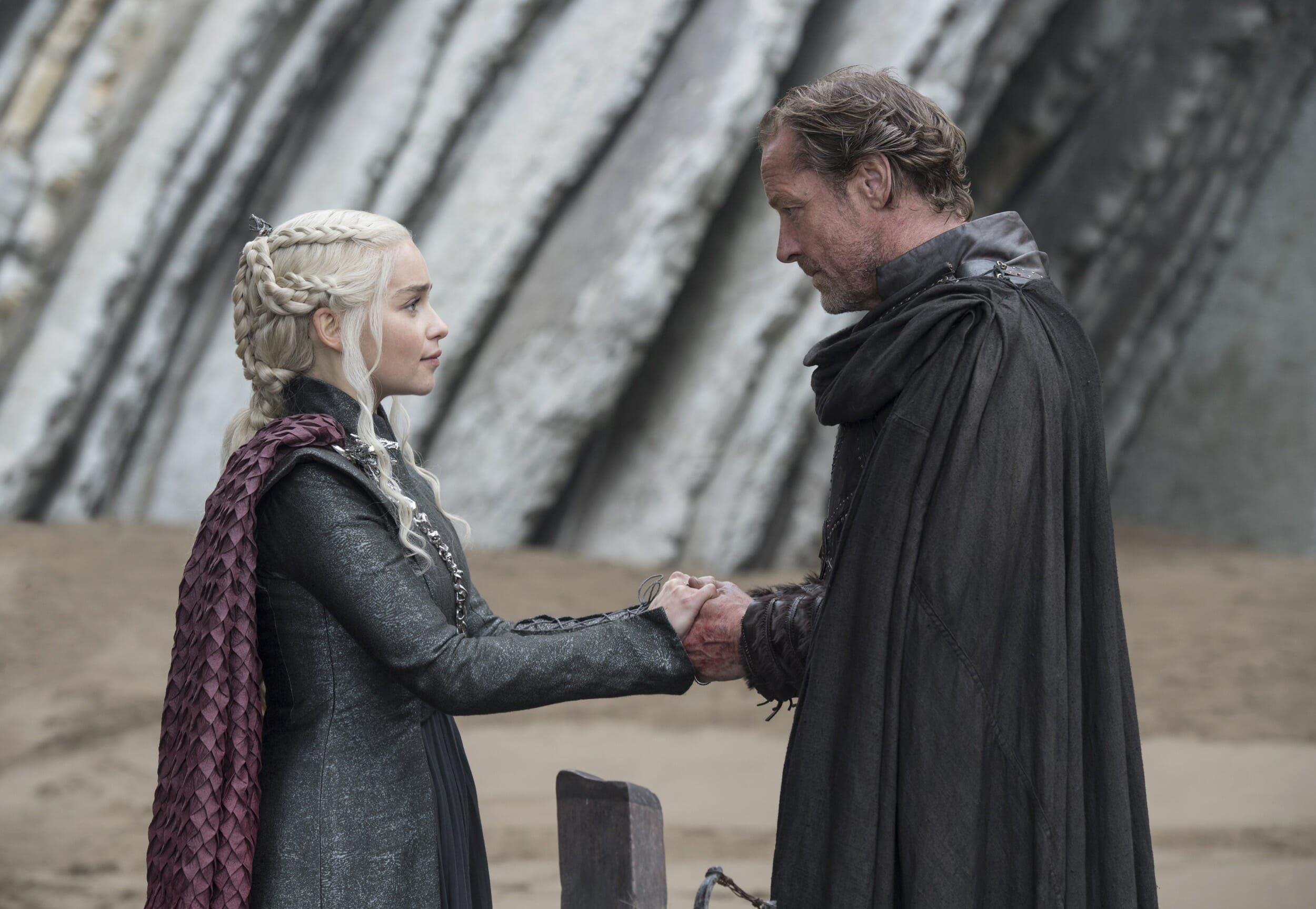 game of thrones jorah mormont daenerys targaryen