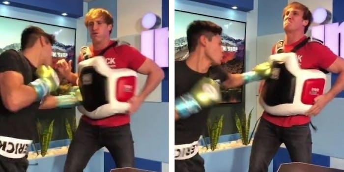 Logan Paul Ryan Garcia boxing Impaulsive