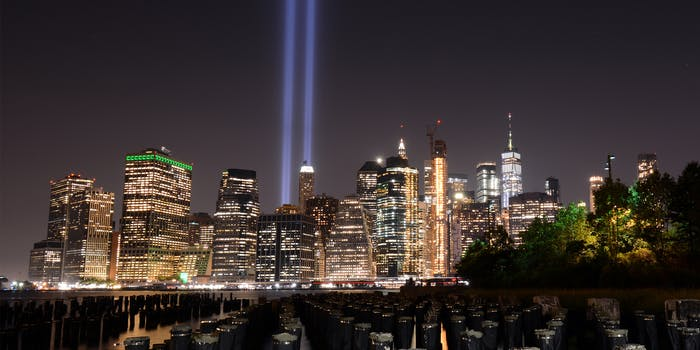 manhattan 911 tribute
