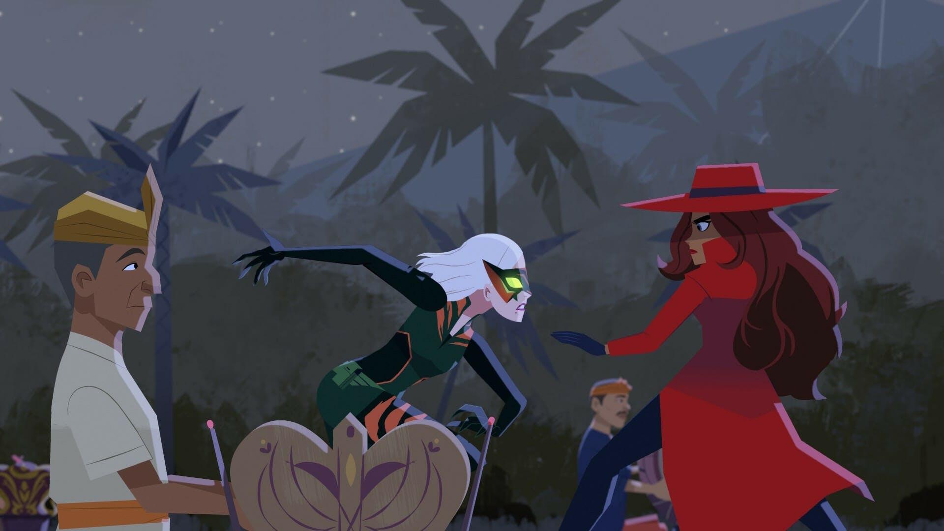Netflix Carmen Sandiego review