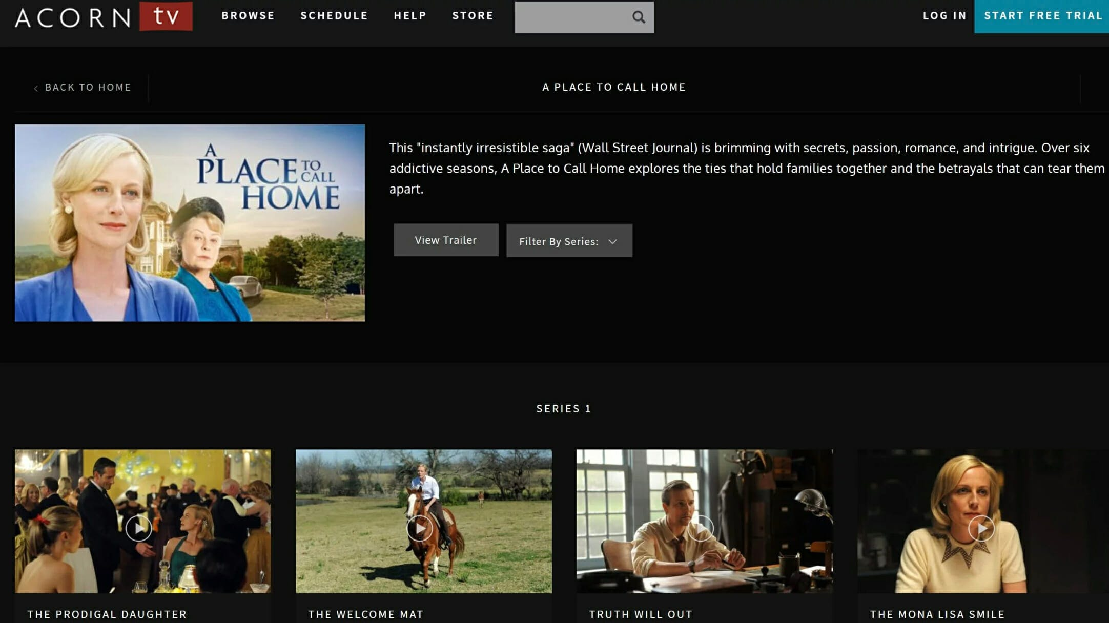 how to watch a place to call home online acorn tv