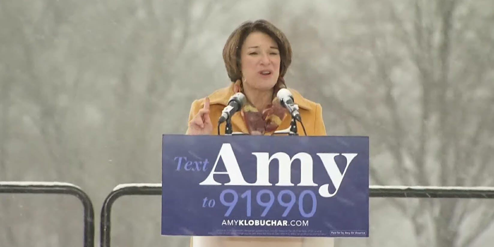 Amy Klobuchar Net Neutrality 2020 Speech