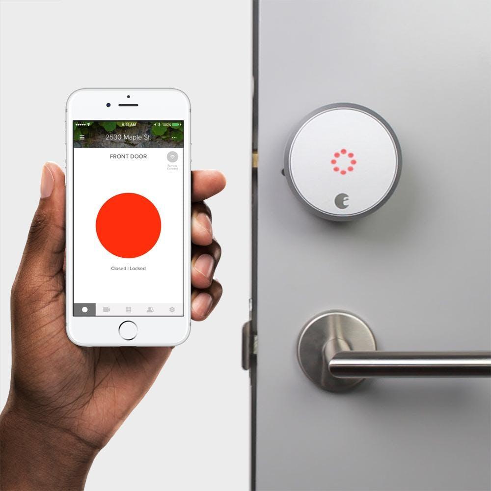 best Amazon Echo Accessories august smart lock pro