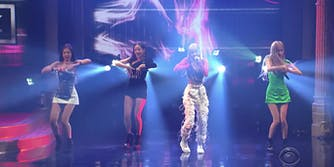 Black Pink Late Show With Stephen Colbert US tour