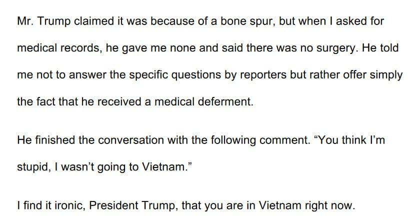 Cohen Opening Statement Vietnam
