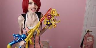 YouTuber Eugenia Cooney Kairi cosplay