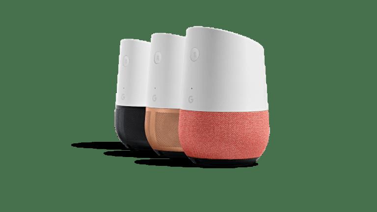 Google Home vs Apple HomePod: Google Home base options