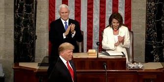 Mike Pence AIDS Trump State of the Union
