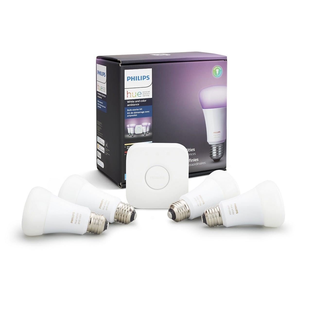 best Amazon Echo Accessories philips hue lights