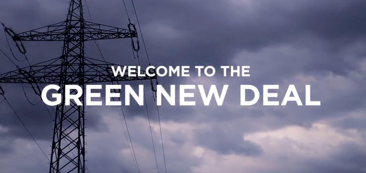 green new deal fyre fest