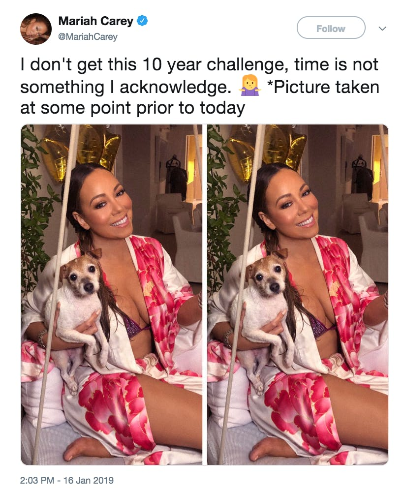 best memes of 2019 - 10 year challenge