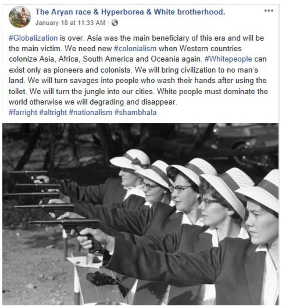 facebook hate speech