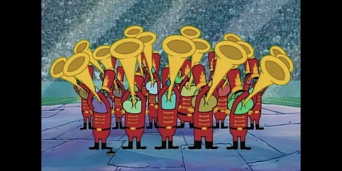 Super Bowl SpongeBob Travis Scott Mashup