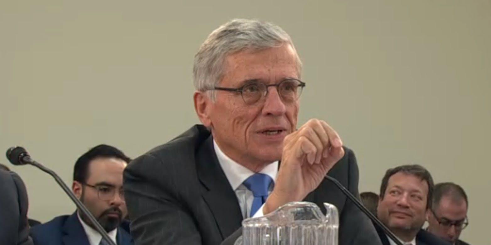 Tom Wheeler Net Neutrality Subcommittee Hearing