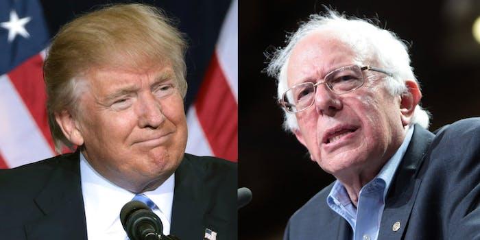 Trump Crazy Bernie 2020 Nicknames