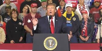 Trump El Paso Rally Audience Size