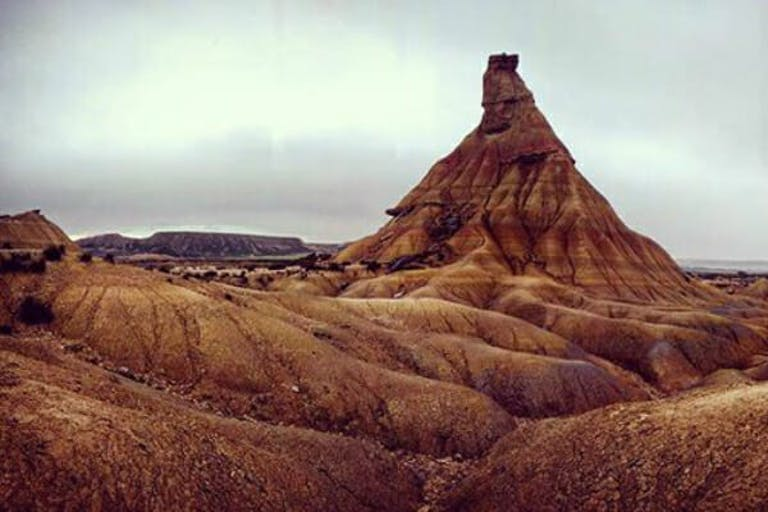 Where is Game of Thrones filmed - Bardenas Reales