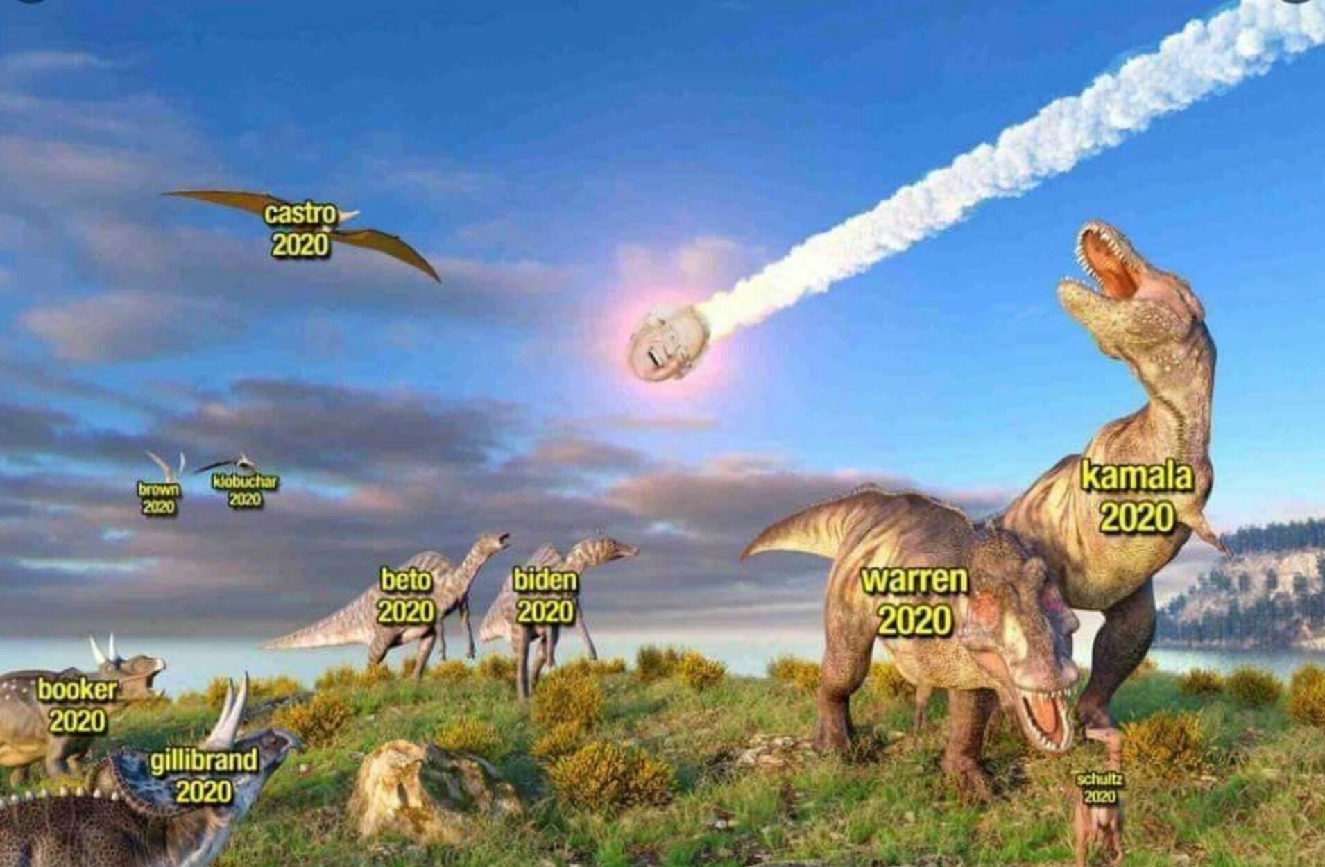 Bernie-Sanders-memes-dinosaurs