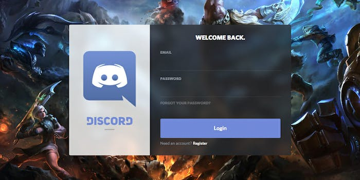 what is discord sign in