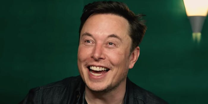 Elon Musk hosts PewDiePie's meme review.