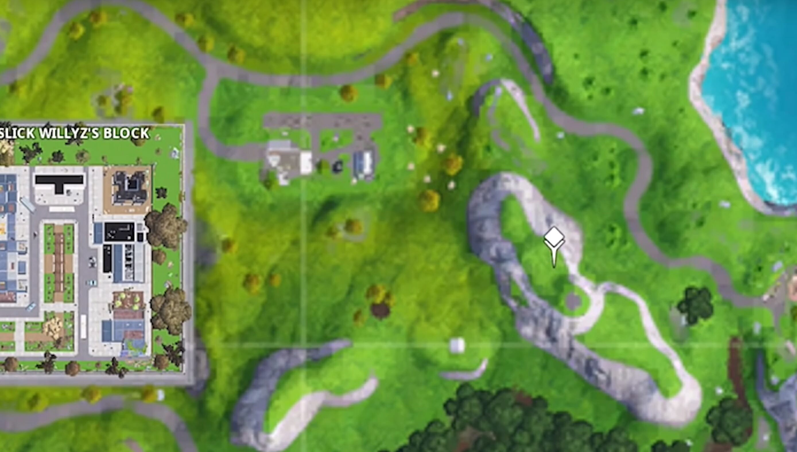 fortnite prisoner skin stage 4 map