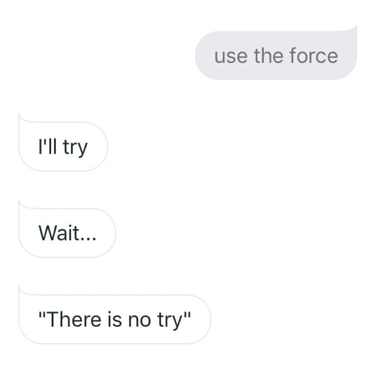 funny things to ask google home - use the force