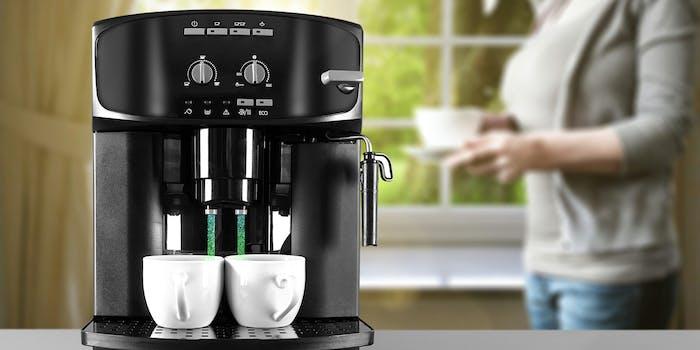 hacked coffee machine