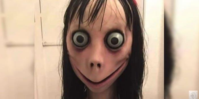 Momo YouTube suicide challenge